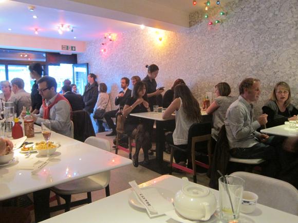 A classic Prawn Pho enjoyed in the landmark restaurant Cay Tre Shoreditch